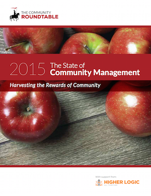 State of Community Management 2015