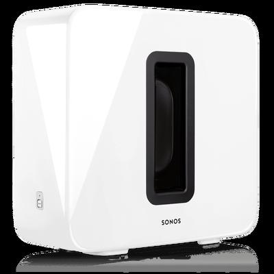 Sonos Sub White at angle