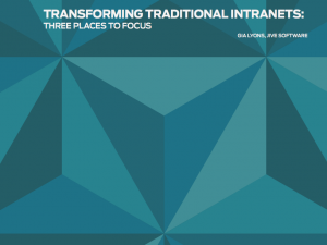 Jive Transforming Traditional Intranets