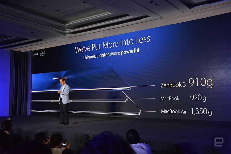 Asus Zenbook 3 Announcement