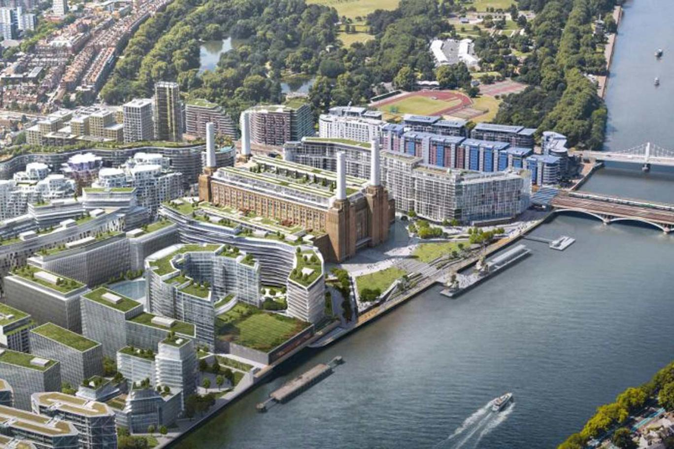 Battersea Power Station site