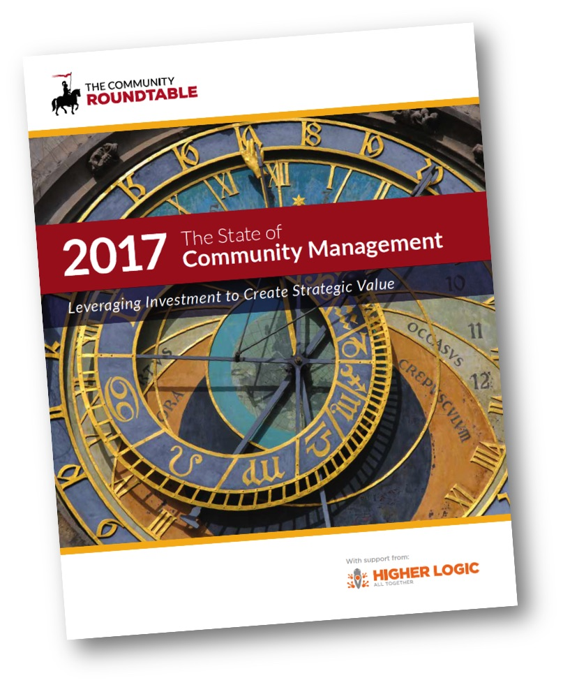 Community Roundtable State of Community Management report 2017